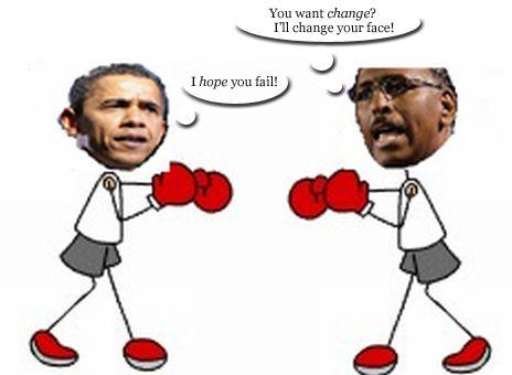 Obama vs. Steele