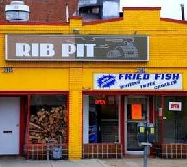 Rib Pit, Located at 14th and Randolph