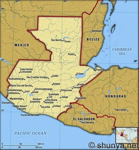 Van a Guatemala