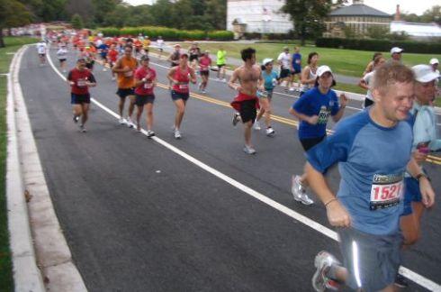 Running the Baltimore Marathon